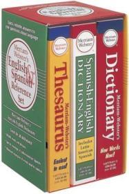 Merriam-Webster'sEnglish&SpanishReferenceSet