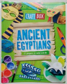 Ancient Egyptians (Craft Box) Paperback  古埃及人(工艺盒) 平装