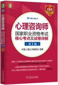 心理咨询师国家职业资格考试核心考点及试卷详解(第2版)