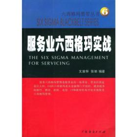 服务业六西格玛实战--六西格玛黑带丛书6