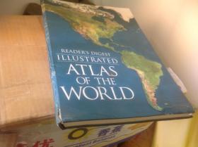 买满就送 《读者文摘版本大开本世界地图集READERS DIGEST ,ATLAS OF THE WORLD》
