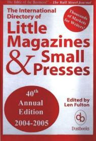The International Directory Of Little Magazines And Small Presses  40th Edition (2005)