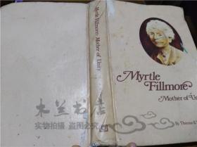 原版英法德意等外文书 Myrtle Fillmore Mother of Unity Thomas E.Witherspoon UNITY BOOKS 1977年 大32开硬精装