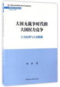 世经政丛书之世界政治系列 大国无战争时代的大国权力竞争:行为原理与互动机制