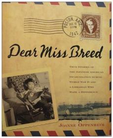 Dear Miss Breed  亲爱的布瑞德小姐 英文原版 二战的一段历史