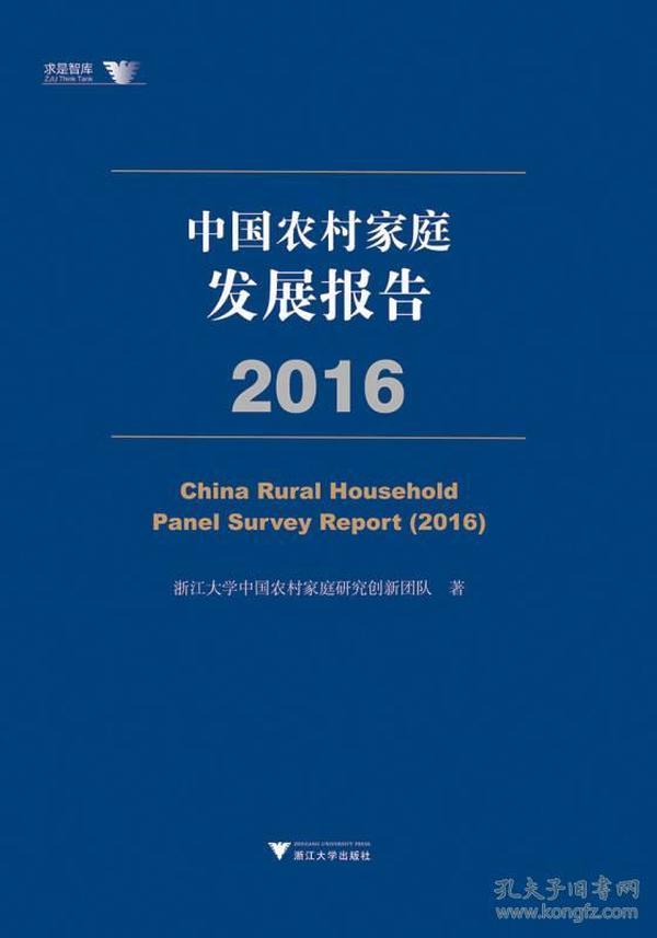 中国农村家庭发展报告:2016