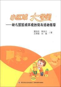 小区域 大学问:幼儿园区域环境创设与活动指导