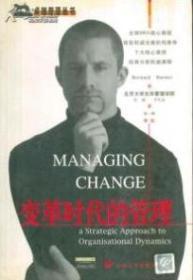 变革时代的管理  卓越管理丛书