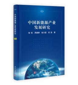 中国新能源产业发展研究