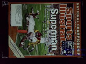 Sports Illustrated 英文体育画报杂志 2006/01/09 外文学习资料