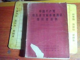 中国共产党山东省济南市槐荫区组织史资料 (1948---1987)    (封面破损,有水迹,见图)