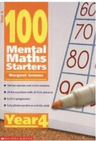 特价~100 Mental Maths Starters year 4