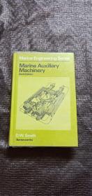 Marine Auxiliary Machinery Sixth Edition  英文版 精装 品好 书品如图 避免争议