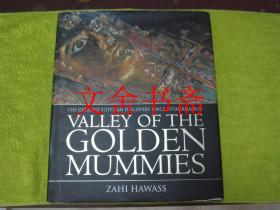 VALLEY OF THE GOLDEN MUMMIES 英文原版 精装