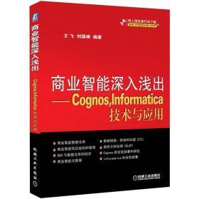 商业智能深入浅出:Cognos,Informatica技术与应用
