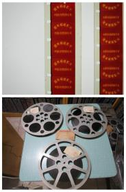 英国奇观 16毫米1984年科教电影胶片拷贝 3卷全新0场未开封未放映