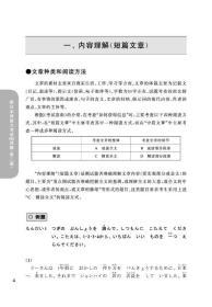 新日本语能力考试N5读解