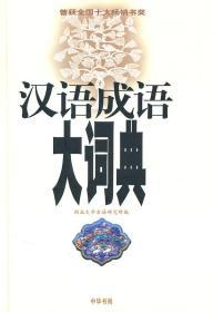 正版现货 汉语成语大词典  精 朱祖延  中华书局