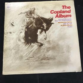 黑胶唱片 The Copland Album 两张