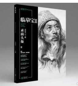 2018敲门砖临摹宝3素描头像李家友素描人物头像半身象