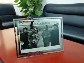 领袖老照片【毛泽东、刘少奇、周恩来、朱德】31*23厘米