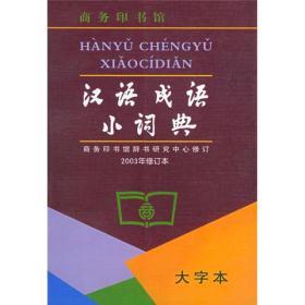 汉语成语小词典-第6版-大字本