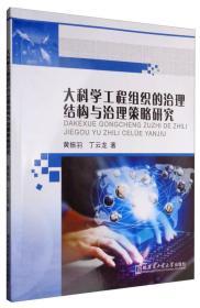大科学工程组织的治理结构与治理策略研究