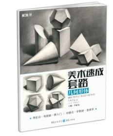 正版2018敲门砖美术速成套路 几何形体 李家友几何体