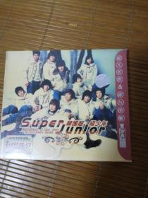 CD碟-super  junior{韩国超级少年}{车载指定发烧碟}{全新,未拆封}
