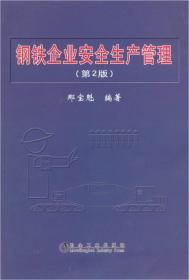 钢铁企业安全生产管理(第2版)