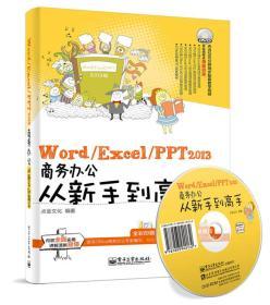 Word/Excel/PPT2013商务办公从新手到高手