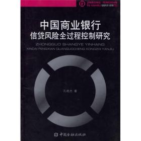 中国商业银行信贷风险全过程控制研究