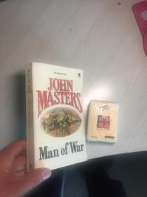 MAN OF WAR   17.6X11CM
