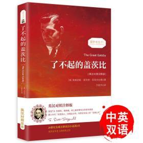 了不起的盖茨比 正版无删减英文版原版原著翻译中文全译本英汉对照 世界名著-振宇书虫(英汉对照注释版)