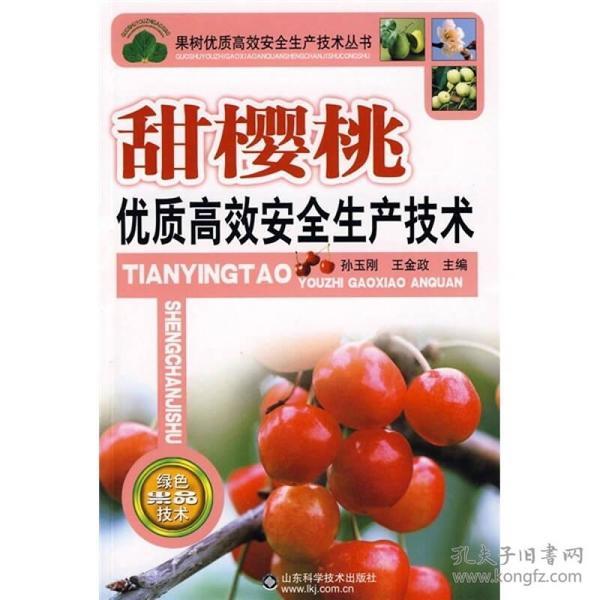 果树优质高效安全生产技术丛书:甜樱桃优质高效安全生产技术