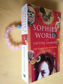 英文原版 正版 苏菲的世界 Sophies World by Jostein Gaarder