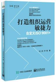打造组织运营敏捷力 专著 自定义ISO 9001+ 王二乐,乔锐著 da zao zu zhi yun ying m