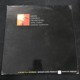 黑胶唱片 CONCERTO FOR ORCHESTRA