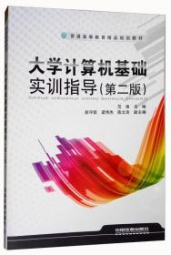 大學計算機基礎實訓指導 第二版