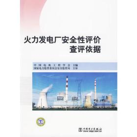 正版 火力发电厂安全性评价查评依据 中国电机工程学会 中国电力出版社