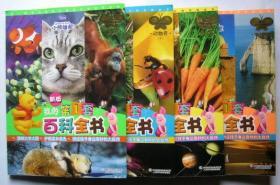 新版小熊维尼我的第1套百科全书:《动物卷 上下册》《自然卷》《地球卷》