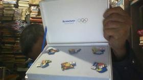 lenovo联想 2008年北京奥运会徽章(一套6枚)【盒装】