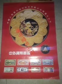 挂历 1993-1994 两年 中外货币图谱