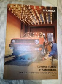 Dynamic testing of automobiles 汽车的动态测试