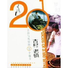 正版微残-梦幻旅游:古村老镇-古韵与风情的20个地方CS9787561329146