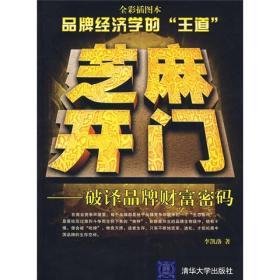 芝麻开门——破译品牌财富密码 李凯洛 清华出版社 978730217