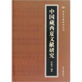 中国藏西夏文献研究