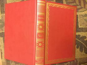The Travels of Marco Polo The Venetian (International Collectors Library)马可波罗游记,1948国际藏家图书馆版,皮面簪花精致绝美插图毛边本