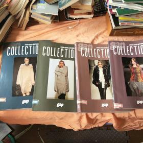 gap 2008-2009 AUTUMN &WINTER COLLECTIONS (1-4)4册合售。秋冬 。第2册有点开胶。不缺页。书脊有标签。