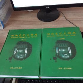 湖湘文化大辞典 第一卷 第四卷 两册合售